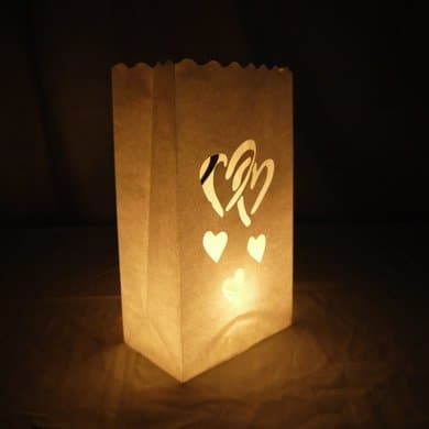 Evening Lights ~ Luminary Bags