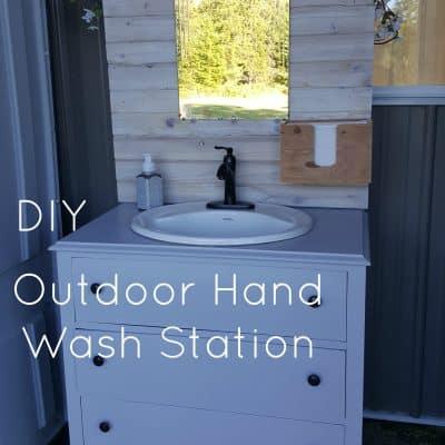 HB:014 DIY Outdoor Hand Wash Station