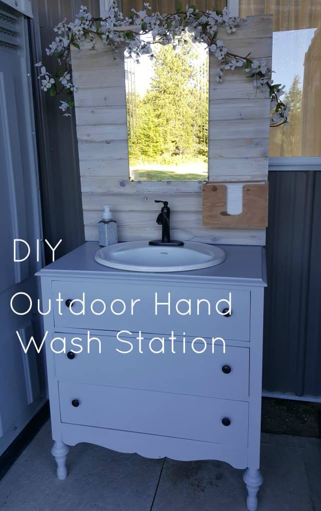 HB: 014 DIY Outdoor Hand Wash Station