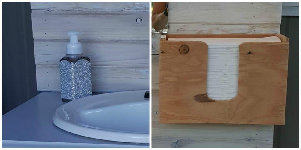 HB: 014 DIY Outdoor Hand Wash Station