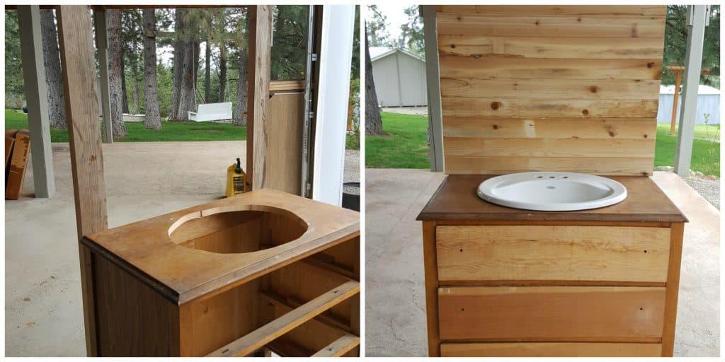 DIY Outdoor Hand Wash Station