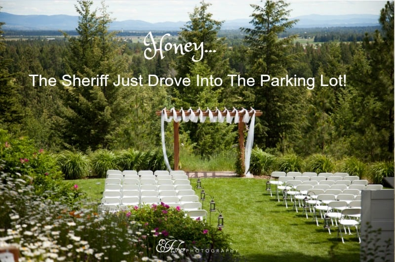HB: 015 Honey… the Sheriff Just Drove into the Venue Parking Lot!