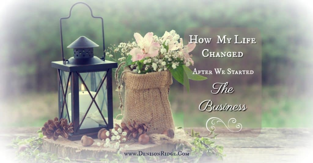 How My Life Changed After We Started the Business