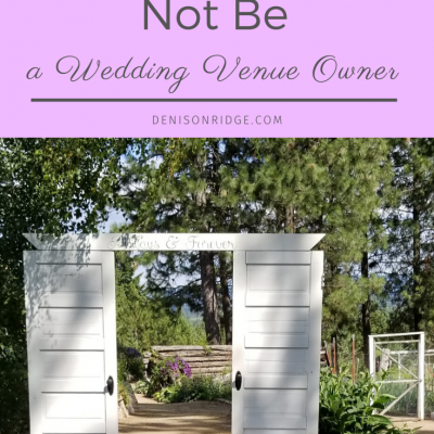 5 Truthful Reasons You Should Not Be a Wedding Venue Owner