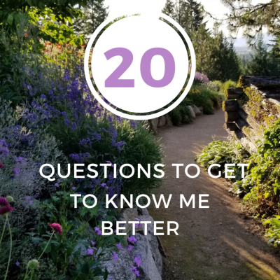 20 Questions to Get to Know Me Better | How to Start and Run a Wedding Venue In Your Own Backyard
