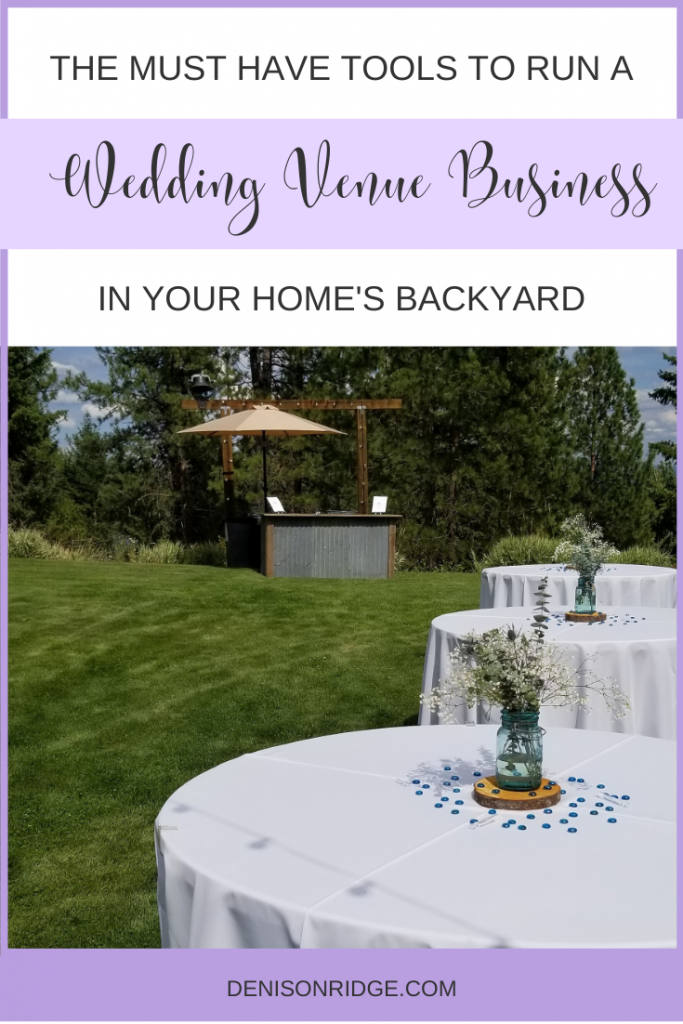 Must Have Tools to Run Your Wedding Venue Business