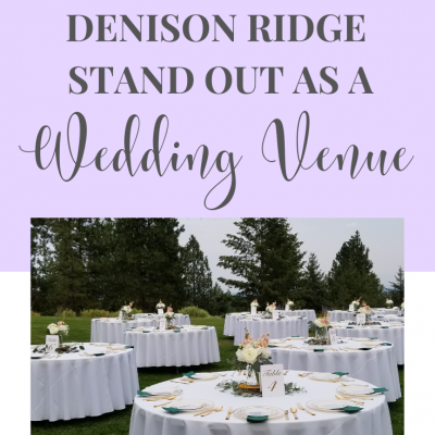 What Makes Denison Ridge stand out as a Wedding Venue