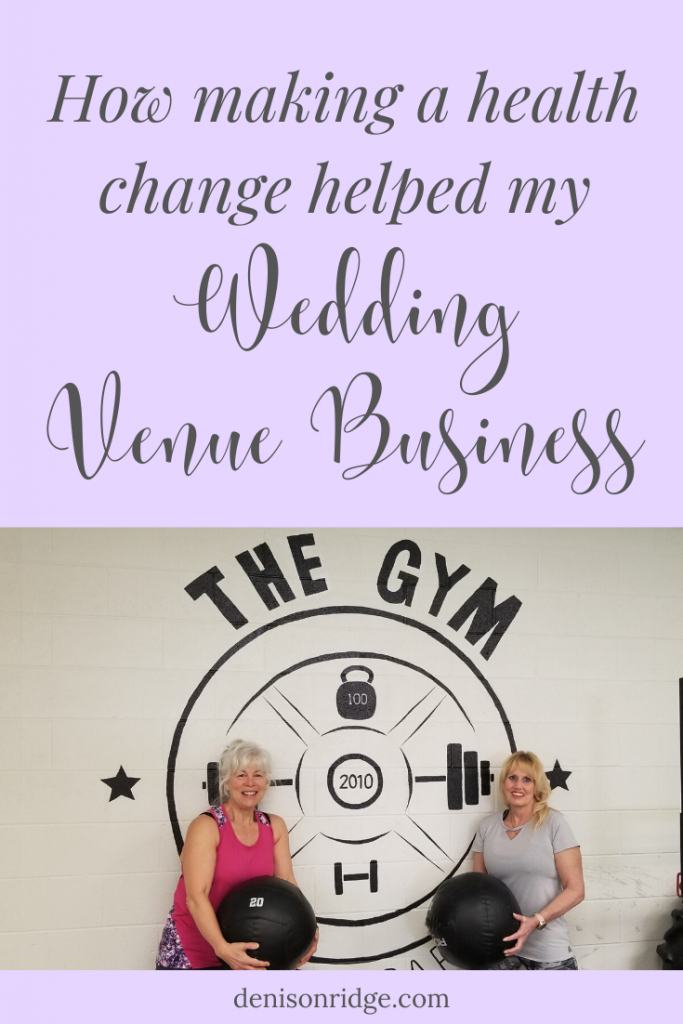 This Health Change Was Good For Me & My Wedding Venue Business