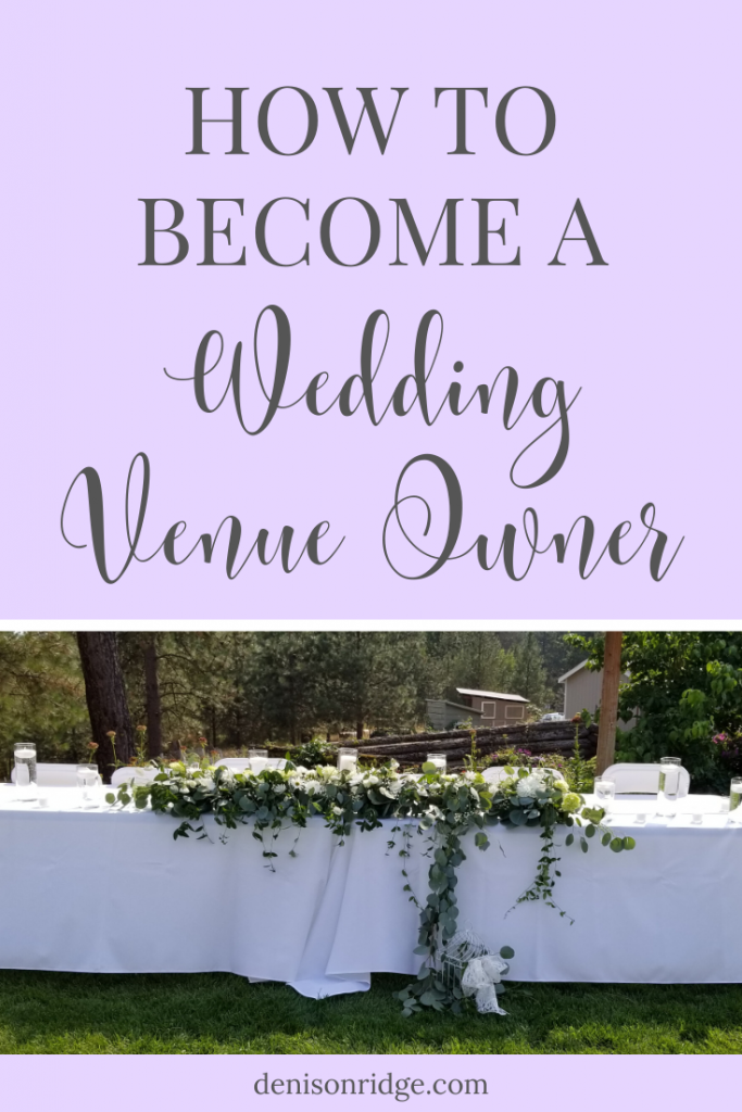 How to Become a Wedding Venue Owner