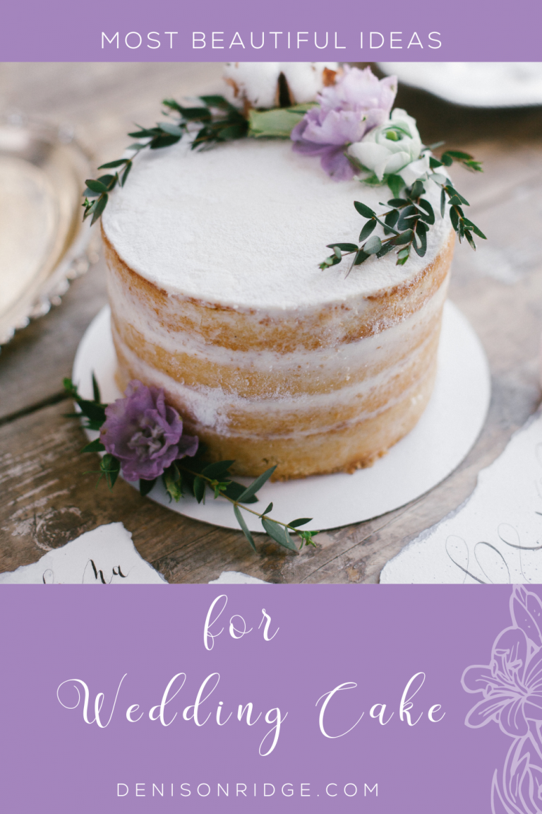 Most Beautiful Ideas for Wedding Cake
