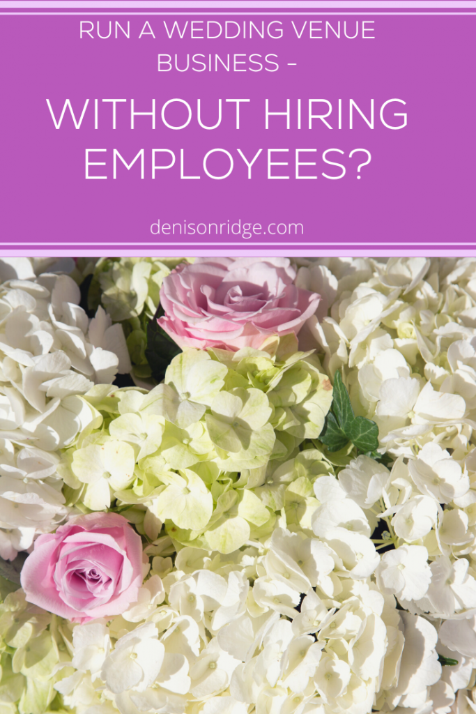 Can You Run a Wedding Venue Business Without Hiring Employees?