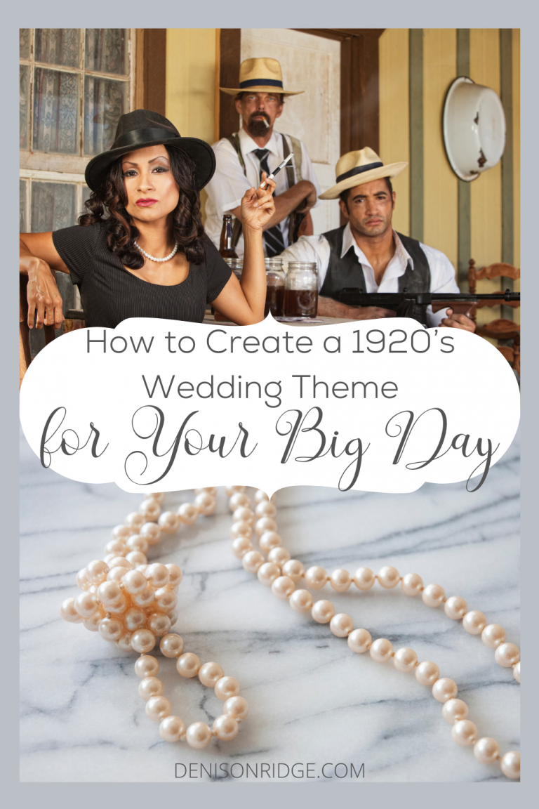 How to Create a 1920's Wedding Theme for Your Big Day